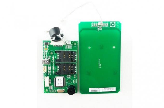 DC 5V 13.56 MHz Magnetic ATM Card Reader For Bank , Smart RF Card Reader