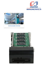 China RS232 Motorized Card Reader / IC Card Reader Equipment For Self-Service Device supplier