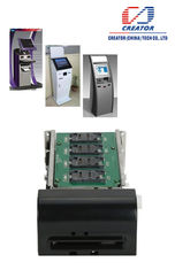 China EMV Smart Motorized Card Reader supplier