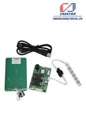 China 13.56 MHz RFID ATM Card Reader With USB Interface , IC Card Reader DC 5V supplier