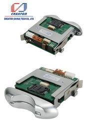 RS 232 Hybrid Half Insert RFID Card Reader / Manual Insert Card Reader For Kiosk