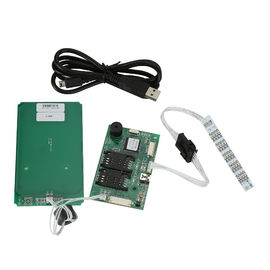 China RFID USB Smart Car Reader Writer For TWO SAM Cards , Contactless RF Card Reader distributor