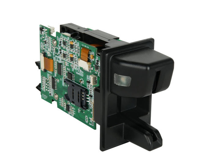 Magnetic Stripe Reader With Lock Function
